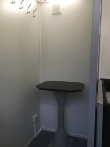 Office / Store / Extra Drying Room with removable table.